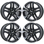 19 CHEVROLET SS CAPRICE BLACK CHROME WHEELS RIMS FACTORY OEM 5721 5722
