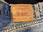 Vintage Mens Levi Strauss  Co 505 Regular Fit Straight Leg Zip Fly 34x34