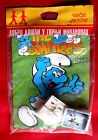 THE SMURFS UNIQUE 1996 EMPTY ALBUM + ALL LOOSE STICKERS SET PANINI PARTNER