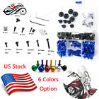 Full Set Motor Fairing Bolt Screw Nuts Screws Kit For Triumph Daytona 650 2005