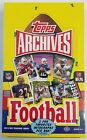 2013 Topps Archives Football Factory Sealed Hobby Wax Box