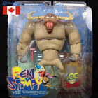 REN AND STIMPY SHOW MIP SEALED SHAVEN YAK TOY DOLL FIGURE BY PALISADES INC. 2004