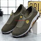 Mens mesh Breathable Slip On Mesh Sneakers Shoes Outdoor Casual Shoes