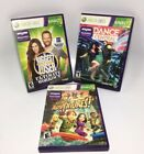 Xbox 360 Kinect Games Lot Kinect Adventures Dance Central Biggest Loser