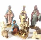 VINTAGE 1994 12 PIECE AFRICAN AMERICAN NATIVITY SET CHRISTMAS 25 TO 5 FIGURES