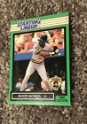 1989  BARRY BONDS - Kenner Starting Lineup Card - PITTSBURGH PIRATES