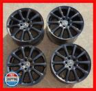 MERCEDES BENZ S CLASS SL550 SL600 Factory OEM 18 WHEEL SET 85055 56 BLACK S