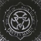 PRETTY MAIDS THE BEST OF BACK TO BACK 17tracks Album Music CDs Japan USED