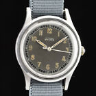 Vintage FORTIS Military watch - 1940s - Swiss made 17 jewels - Runs well