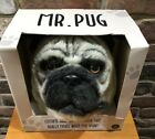 MR PUG Dog Head Mask with Moving Mouth by Thumbs Up New In Box 80