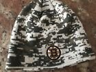 Used BOSTON BRUINS WINTER HAT KNIT BEANIE ONE SIZE FITS MOST