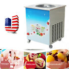 Commercial Fried Milk Yogurt Pan Fried Ice Cream Roll Maker Machine USA SHIP