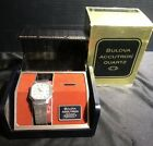 Bulova Accutron Model 2682.10 Seven Jewel Quartz Wristwatch with Case/Box