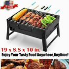 Fold Portable Barbecue BBQ Grill Stove Charcoal Outdoor Camping Cooker BT