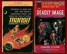 VINTAGE SCI FI Edmund Cooper 2 FIRST EDITION PBS Transit  Deadly Image