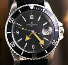 DIVER ULYSSE NARDIN AUTOMATIC WATCH SUBMARINER MILITARY  BIG SIZE Ø40mm.