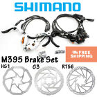 Shimano Acera M395 Hydraulic Disc Brake Lever Front Rear Set Cycling Rotors MTB