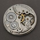 Vintage Hamilton 17J Cal 910 Pocket Watch For Parts Repairs Watchmakers Estate