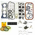92 98 Suzuki Sidekick G16KV Engine Gaskets Ring Main Rod Bearings Thrust Washer