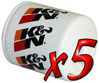 5 Pack Oil Filters Pro Series KN HP 1002