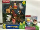 Fisher Price Little People farm barn NEW Animal Friends 8 pack llama rooster pig