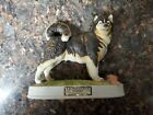 Alaskan Malamute Dog Figurine Whiskey Decanter Lionstone Porcelain
