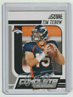 TIM TEBOW Broncos SIGNED 2011 Score COMPLETE PLAYERS #17 Autograph ON CARD AUTO