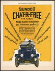 Vintage magazine ad SUNOCO CHAT R FREE for Fords from 1925 Sun Oil Co car pic