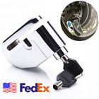 Stainless Motorcycle Brake Disc Lock Anti-theft Wheel Disk Security Alarm USA 1x