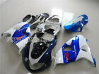 Fit for Suzuki TL1000R 1000R 1998-2003 Fairing Injection Mold White Blue s#22