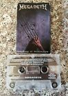 "Megadeth ""Symphony Of Destruction"" Cassette Single Original 1992 Combat Capitol"