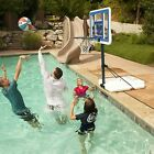 Pool Basketball Hoop Water Goal Net Backboard Poolside Swimming 44 Inch New