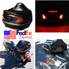 Motorcycle Top Box Tail Lock Case Brake Light for Glide Street Bike Electra USA