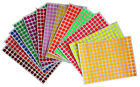 Sticker Labels for Marking 8mm 1 4 Inch Color Coding Dot Art Stickers 2340 Pack