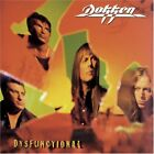 DOKKEN DYSFUNCTIONAL 12tracks Album Music CDs Japan USED