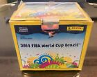 2014 Panini WORLD CUP BRAZIL Factory Sealed 50 Pack STICKER BOX -- 350 STICKERS