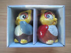 Pfaltzgraff Collectible Owl Salt and Pepper Shaker Set Fall colors NEW in box
