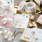 New Pink Foil Paper Washi Tape Japanese Stationery Scrapbooking Decorative Tapes
