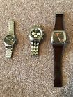 LOT OF (3) Men's watches