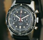 MILITARY ULYSSE NARDIN CHRONOGRAPH WATCH BIG SIZE CASE Ø37mm ALL STAINLESS STEEL