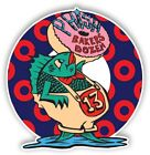 Phish Bakers Dozen 13 Donut Relax Band Cool Hippie Fish Peace Sticker