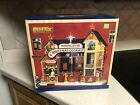 LEMAX CHRISTMAS TOWNHouse Village Sight Sound Musical RISING STAR BAKERY COOKIES