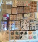 Rubber Stamp lot 150+ alphabets hearts flowers phrases leaves NEW