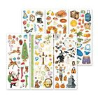 Creative Memories 6 Sheets of Holiday Classic Hand Painted Holiday Stickers NIP