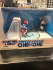 1997 Joe Sakic Mike Richter Freeze Frame One On One Starting Lineup