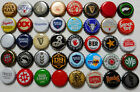 40 Different Beer Bottle Cap Craft Micro Brewery Independent Corporate NO DAMAGE