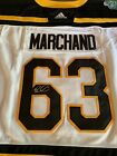 Brad Marchand Signed Boston Bruins Winter Classic Jersey Autographed 2019