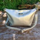 "BCBG PARIS Crossbody Purse ""Metallic Gold"" Pebble Faux Leather Shoulder Bag"
