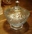 Estate Vintage Candy Dish with Lid Very Good Condition