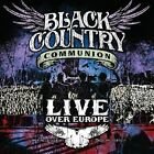 BLACK COUNTRY COMMUNION - LIVE OVER EUROPE - CD - NEW